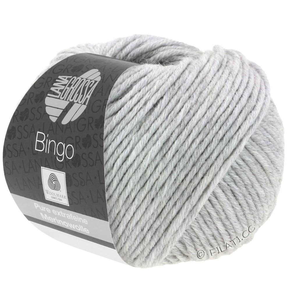 Lana Grossa BINGO  Uni/Melange | 001-lysegrå meleret