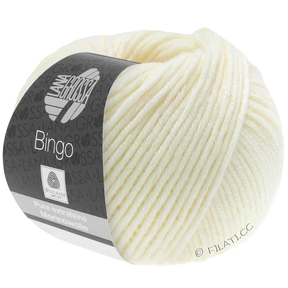 Lana Grossa BINGO  Uni/Melange | 005-rå hvid