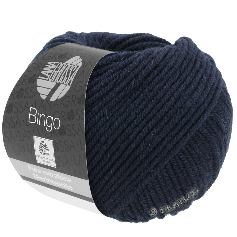 Lana Grossa BINGO  Uni/Melange | 008-natblå