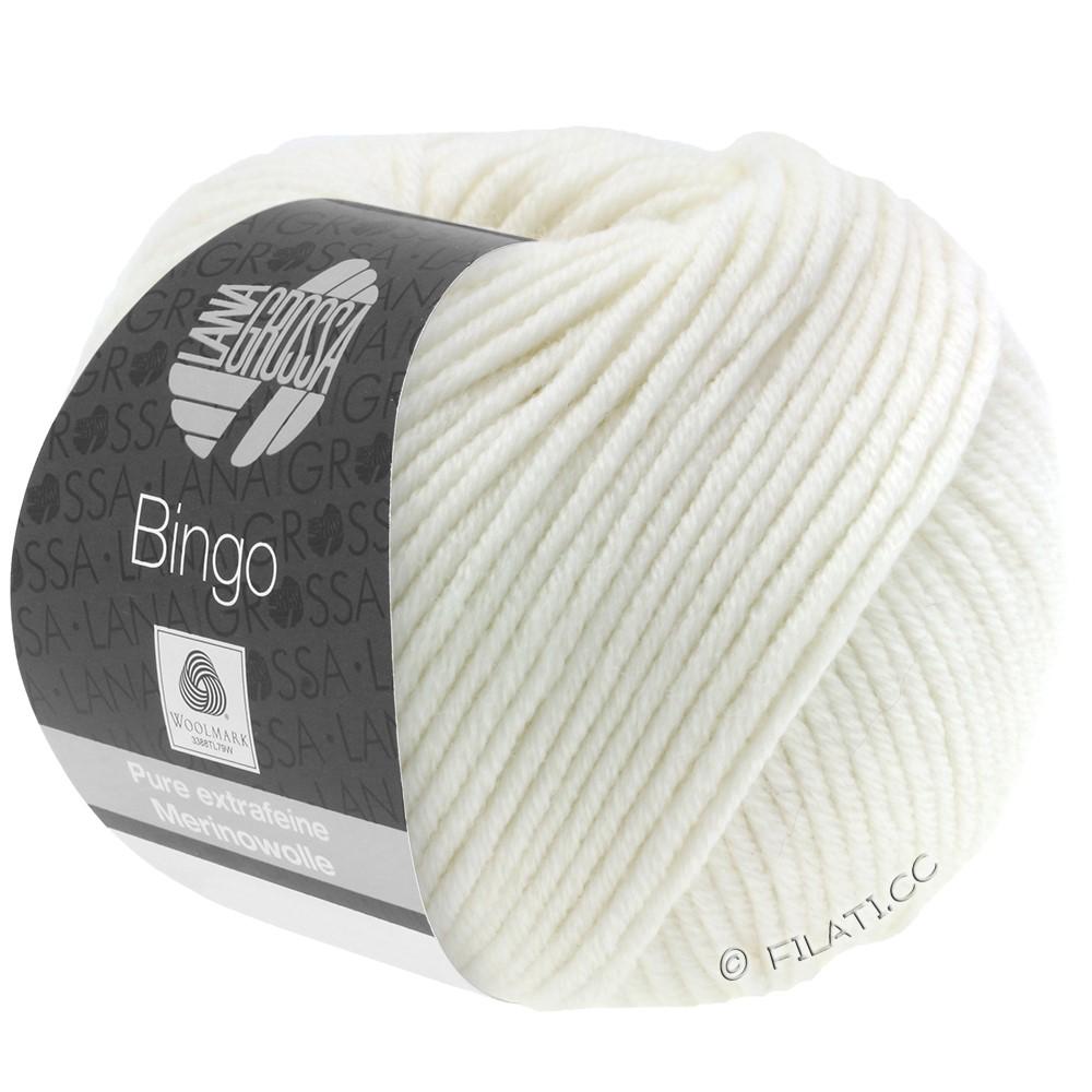 Lana Grossa BINGO  Uni/Melange | 023-hvid