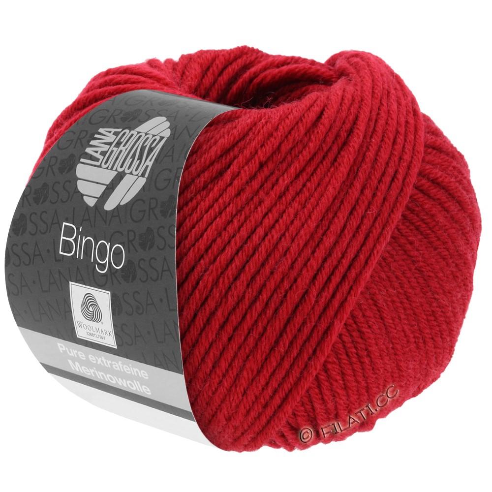 Lana Grossa BINGO  Uni/Melange | 044-kirsebærrød