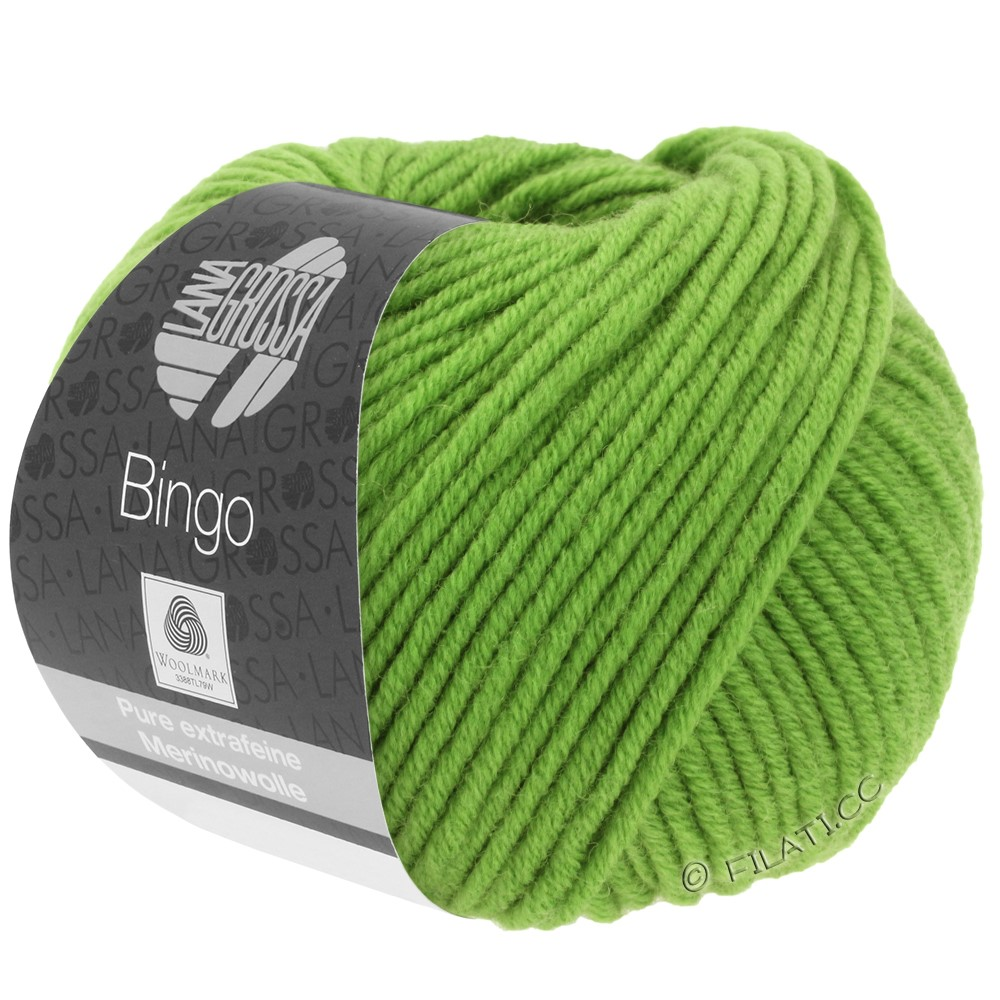 Lana Grossa BINGO  Uni/Melange | 088-æblegrøn