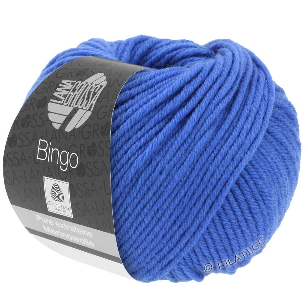 Lana Grossa BINGO  Uni/Melange | 090-koboltblå