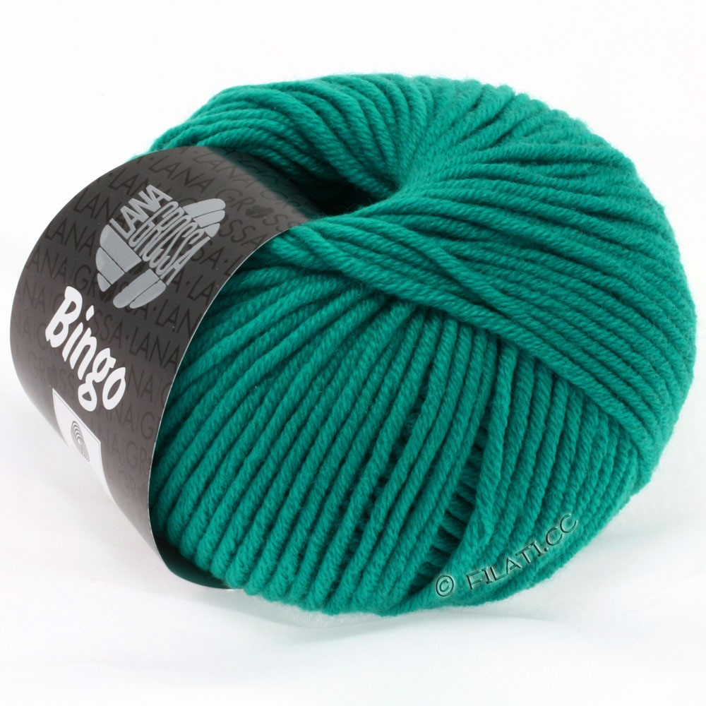 Lana Grossa BINGO  Uni/Melange | 164-opalgrøn