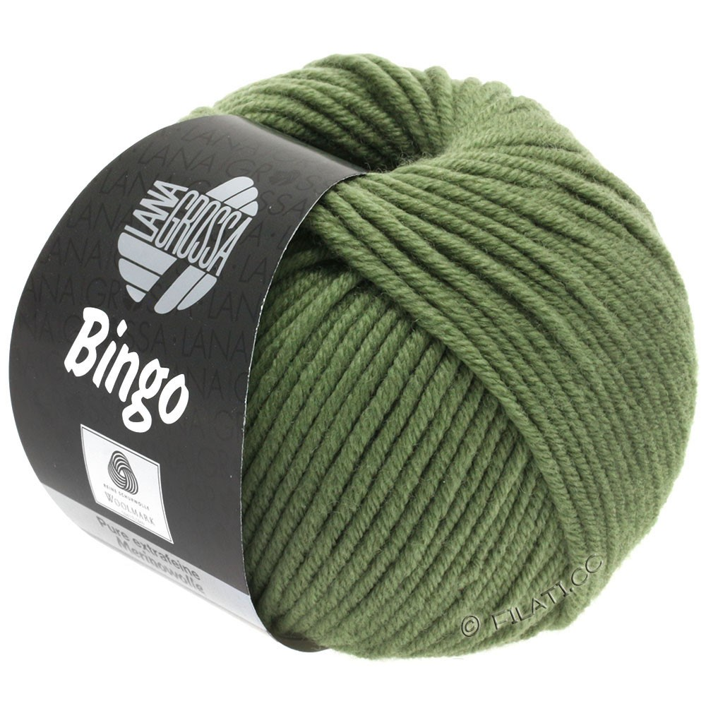 Lana Grossa BINGO  Uni/Melange | 180-resedagrøn
