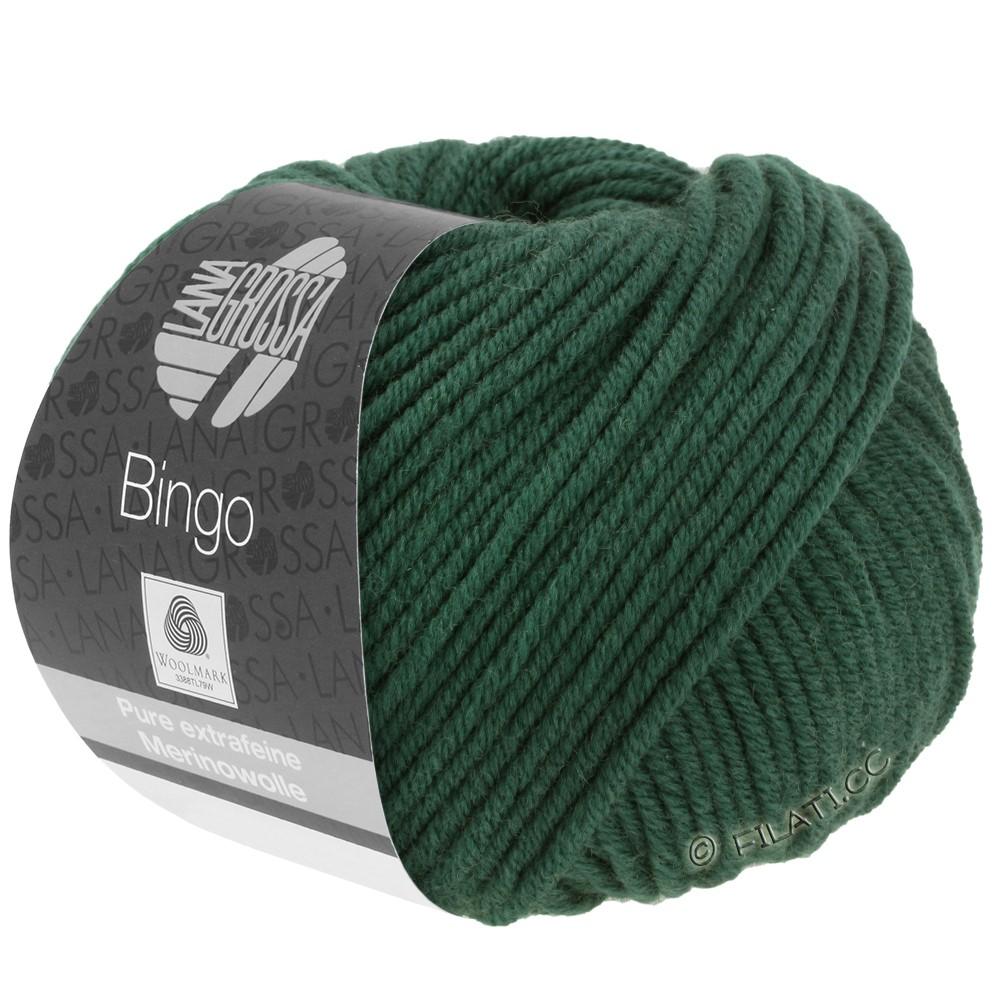 Lana Grossa BINGO  Uni/Melange | 189-mørkegrøn