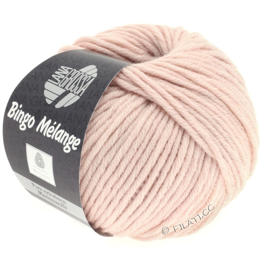 Lana Grossa BINGO  Uni/Melange | 234-rosa meleret