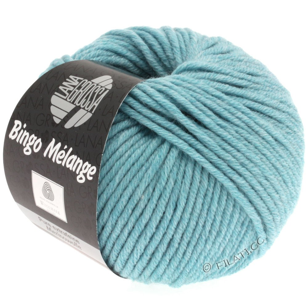 Lana Grossa BINGO  Uni/Melange | 236-lyseblå meleret