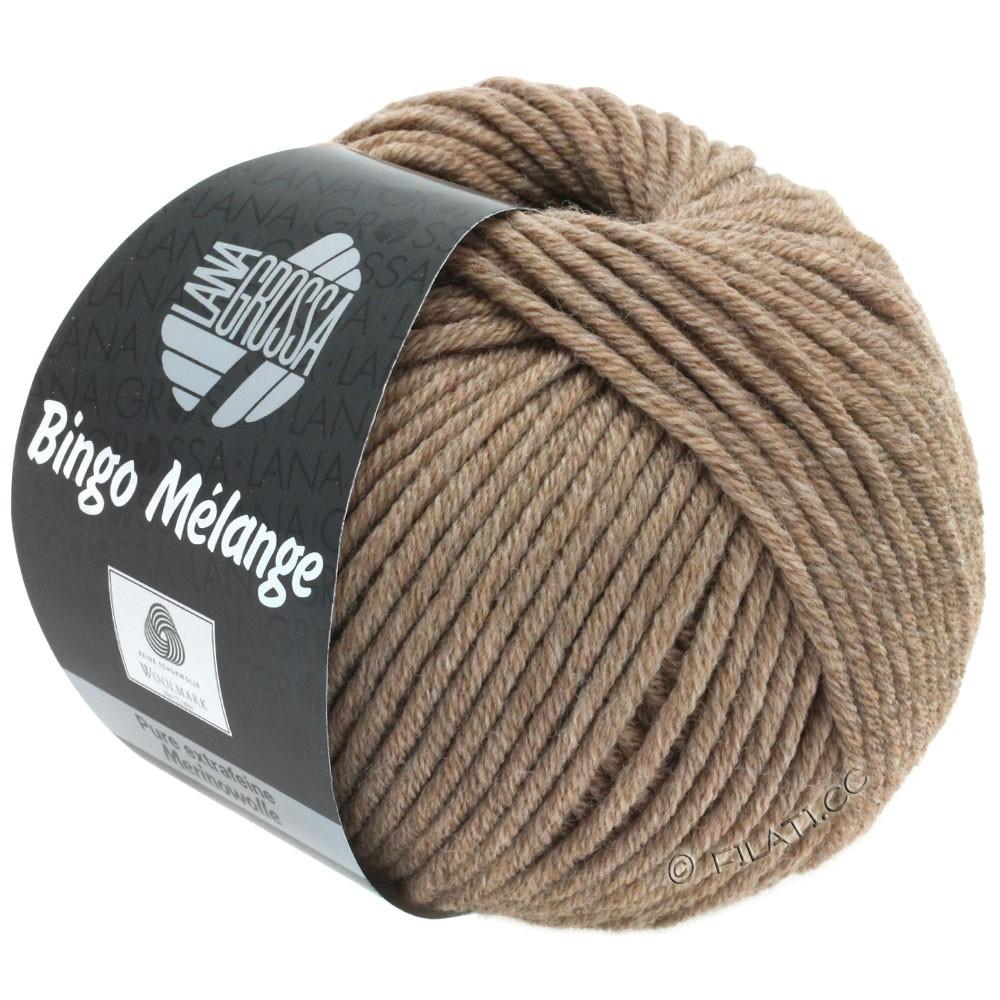 Lana Grossa BINGO  Uni/Melange | 239-brun meleret