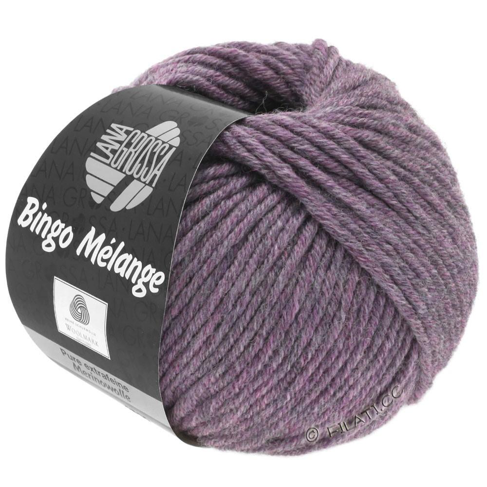 Lana Grossa BINGO  Uni/Melange | 245-antikviolet meleret