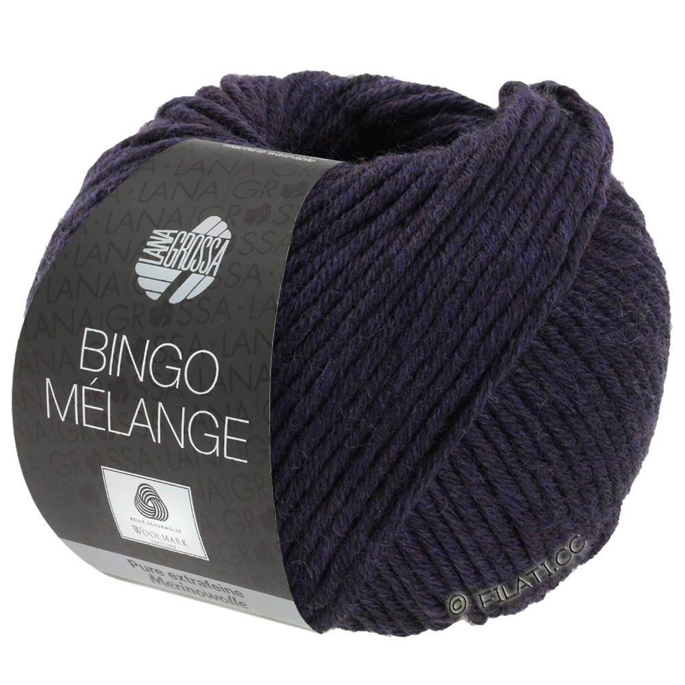 Lana Grossa BINGO  Uni/Melange | 246-aubergine meleret