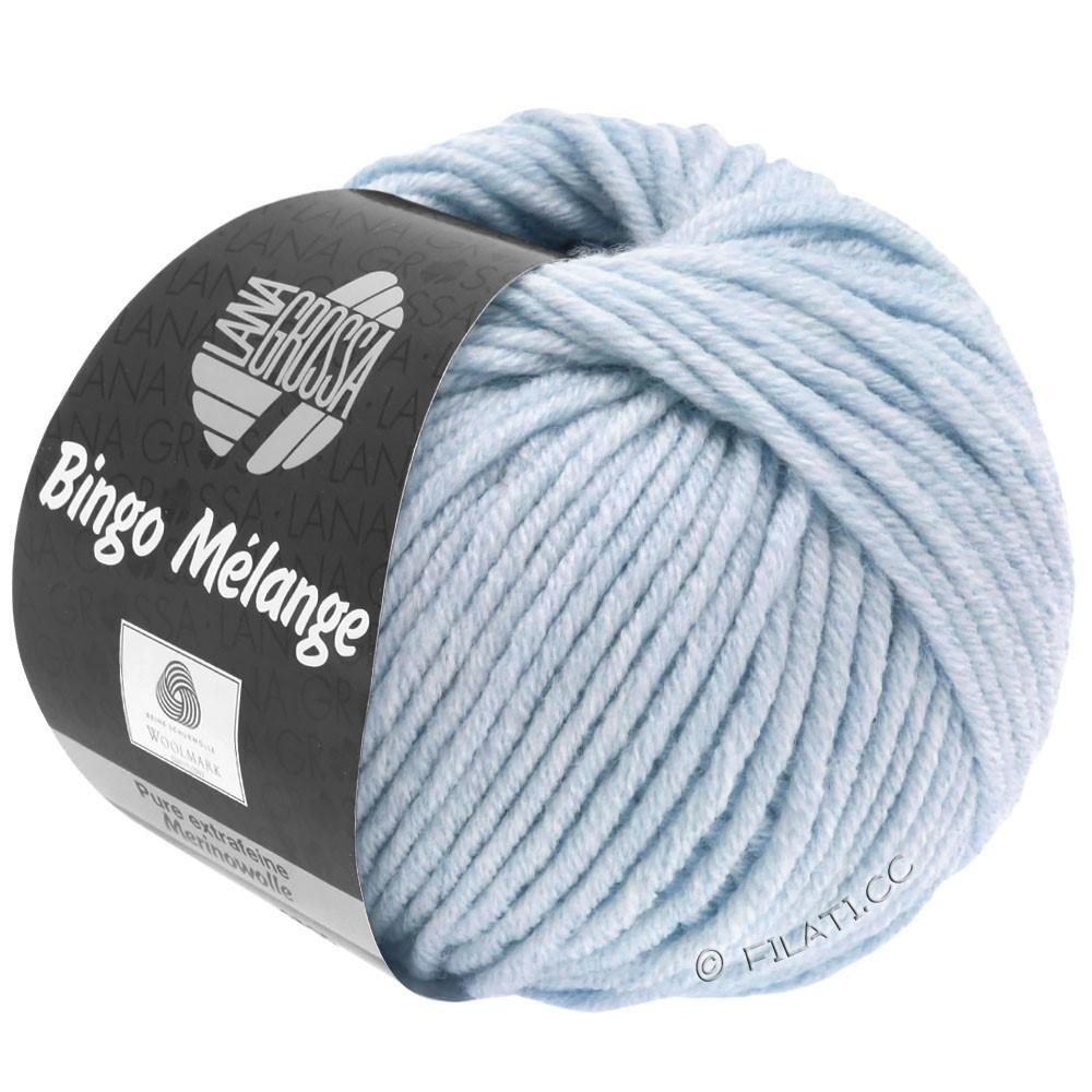 Lana Grossa BINGO  Uni/Melange | 250-lys blå meleret