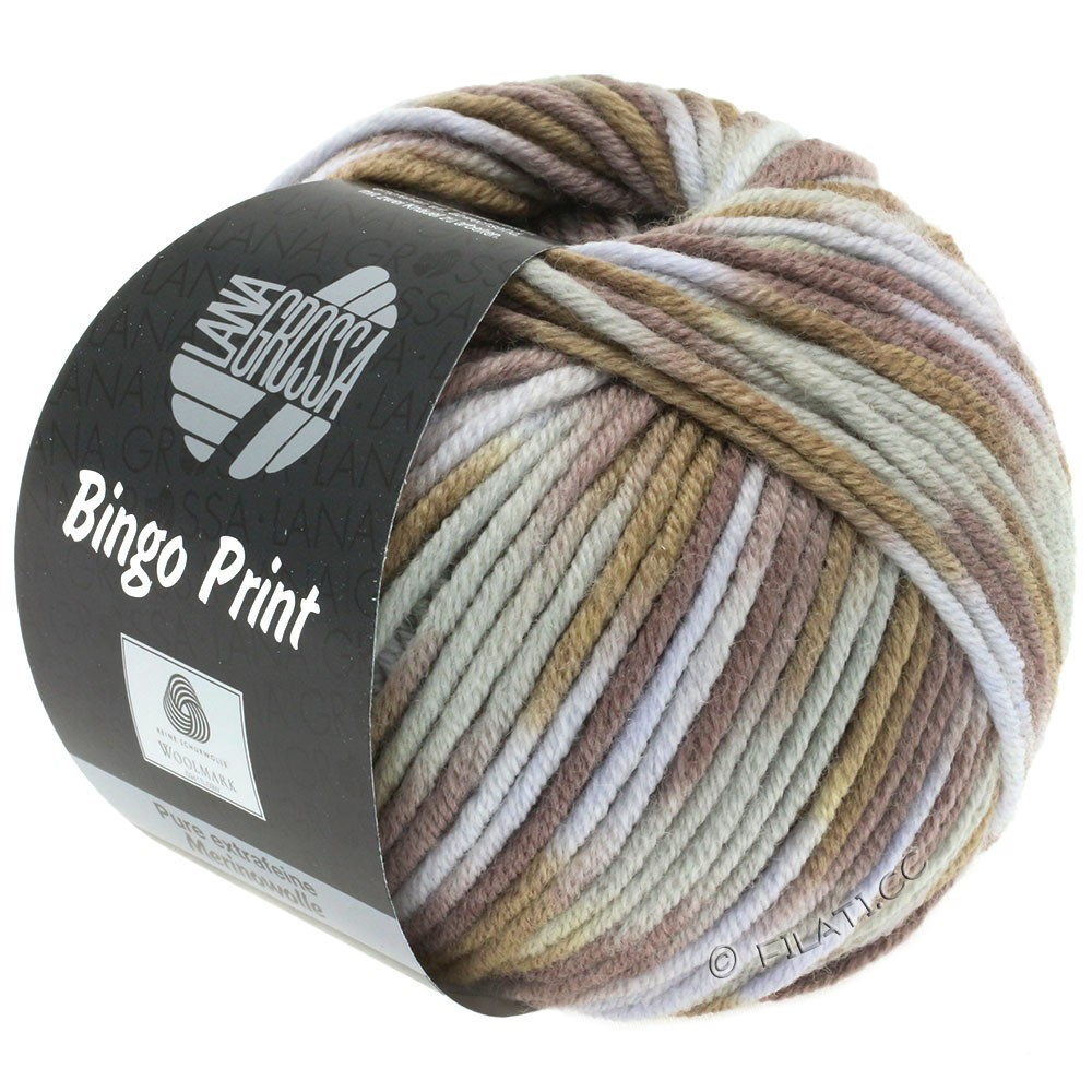Lana Grossa BINGO Print | 365-grège/beige/kamel/taupe