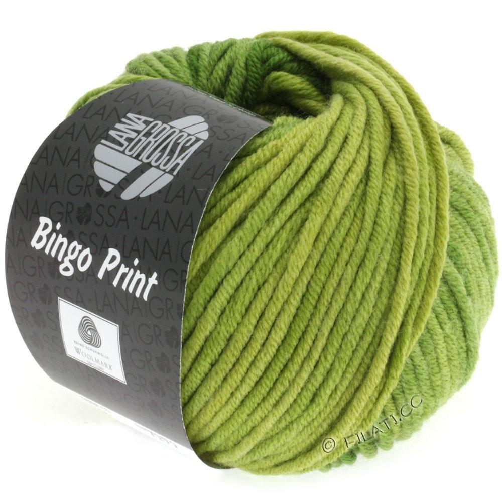 Lana Grossa BINGO Print | 610-gulgrøn/bladgrøn/æblegrøn