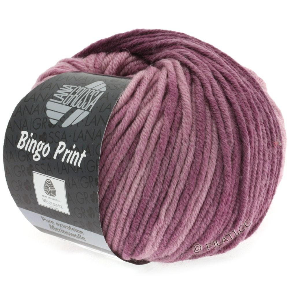 Lana Grossa BINGO Print | 612-brombær/lyng