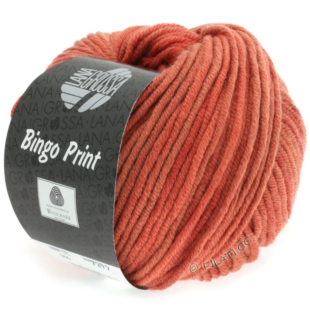 Lana Grossa BINGO Print | 617-koral/ruste