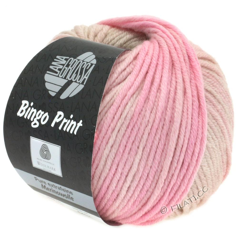 Lana Grossa BINGO Print | 628-lyse beige/pudder/sartrosa