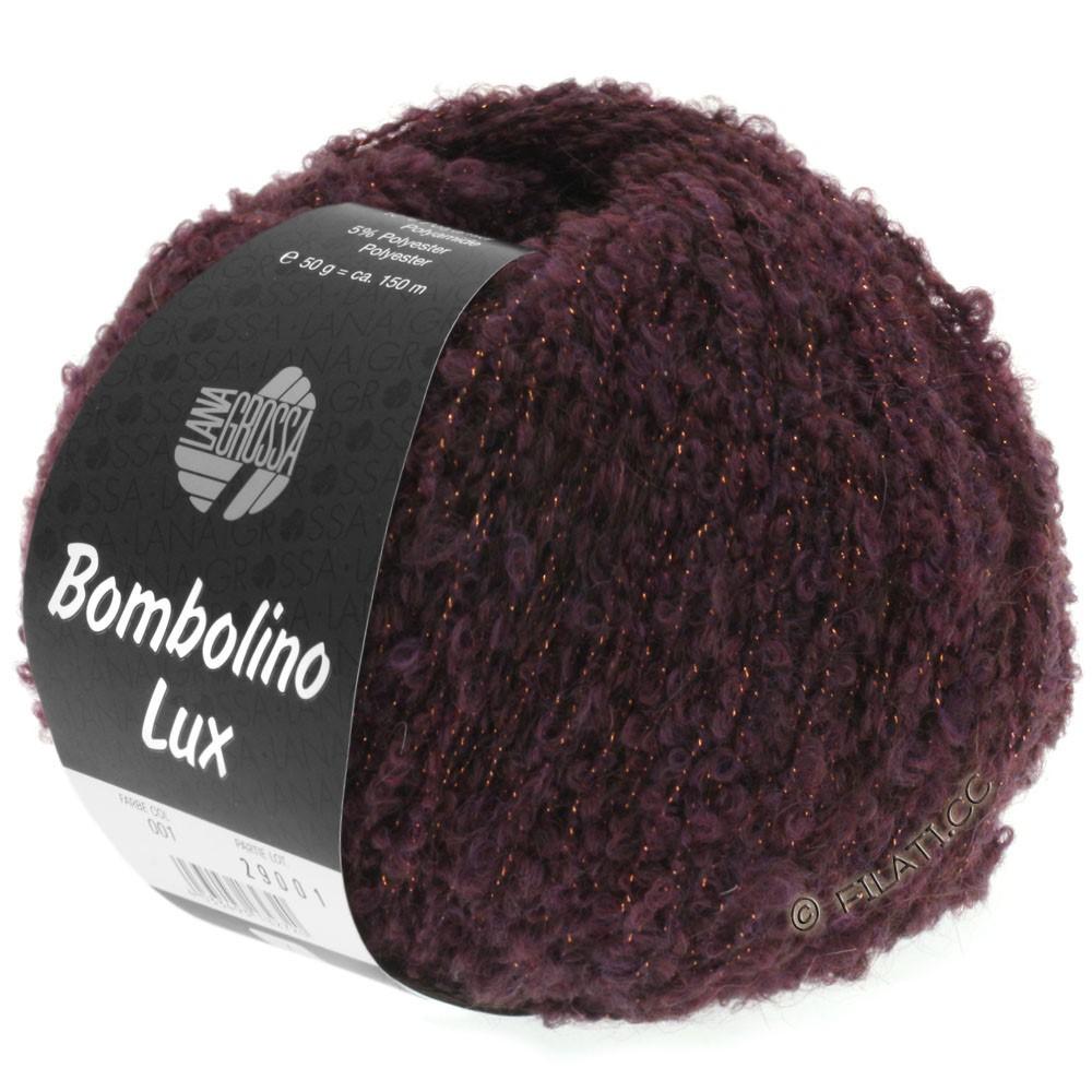 Lana Grossa BOMBOLINO Lux | 002-brombær/kobber
