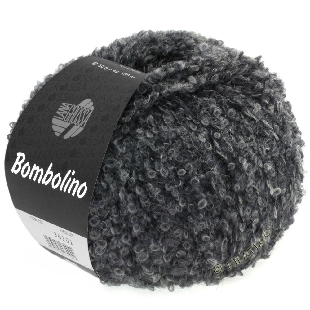 Lana Grossa BOMBOLINO Degradé | 105-lysegrå/grå/antracit