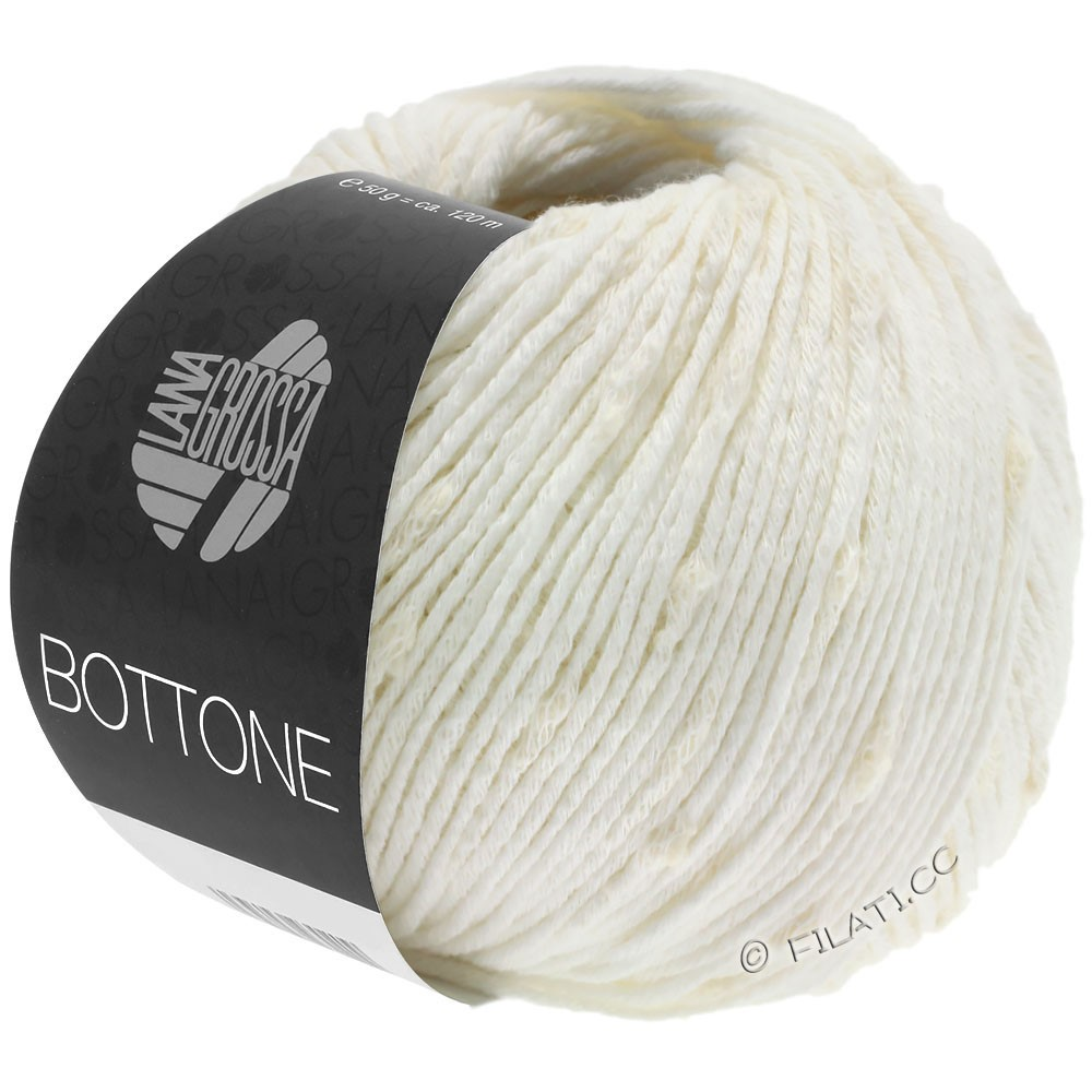 Lana Grossa BOTTONE | 14-hvid