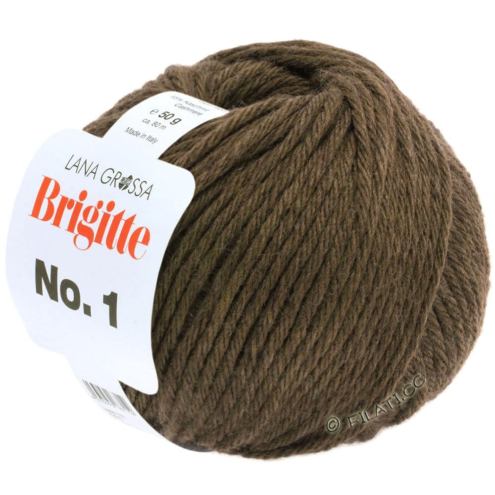 Lana Grossa BRIGITTE NO. 1 | 17-mørkebrun