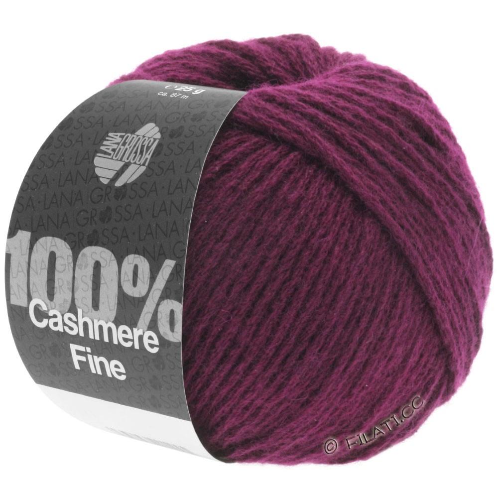 Lana Grossa 100% Cashmere Fine | 07-bordeaux