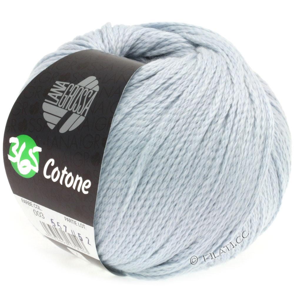 Lana Grossa 365 COTONE   03-sartblå