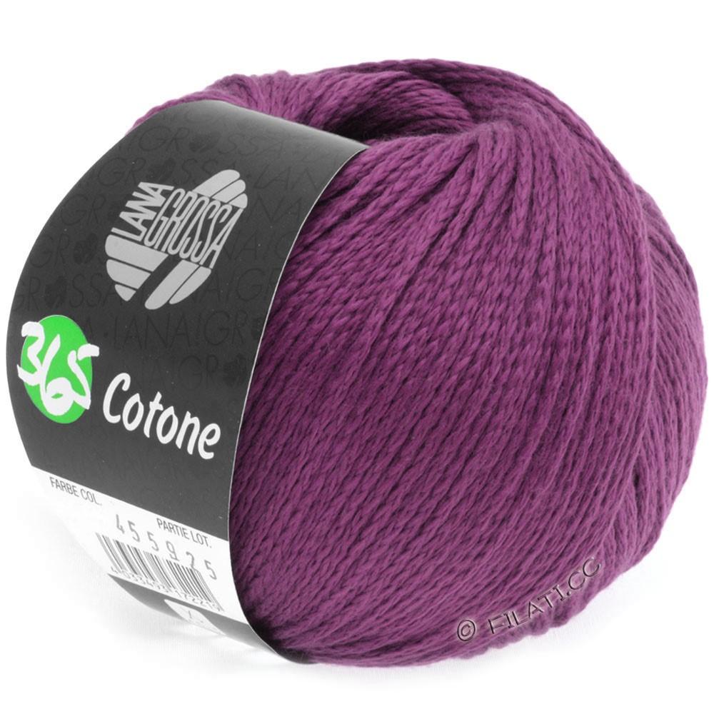 Lana Grossa 365 COTONE | 12-rødviolet