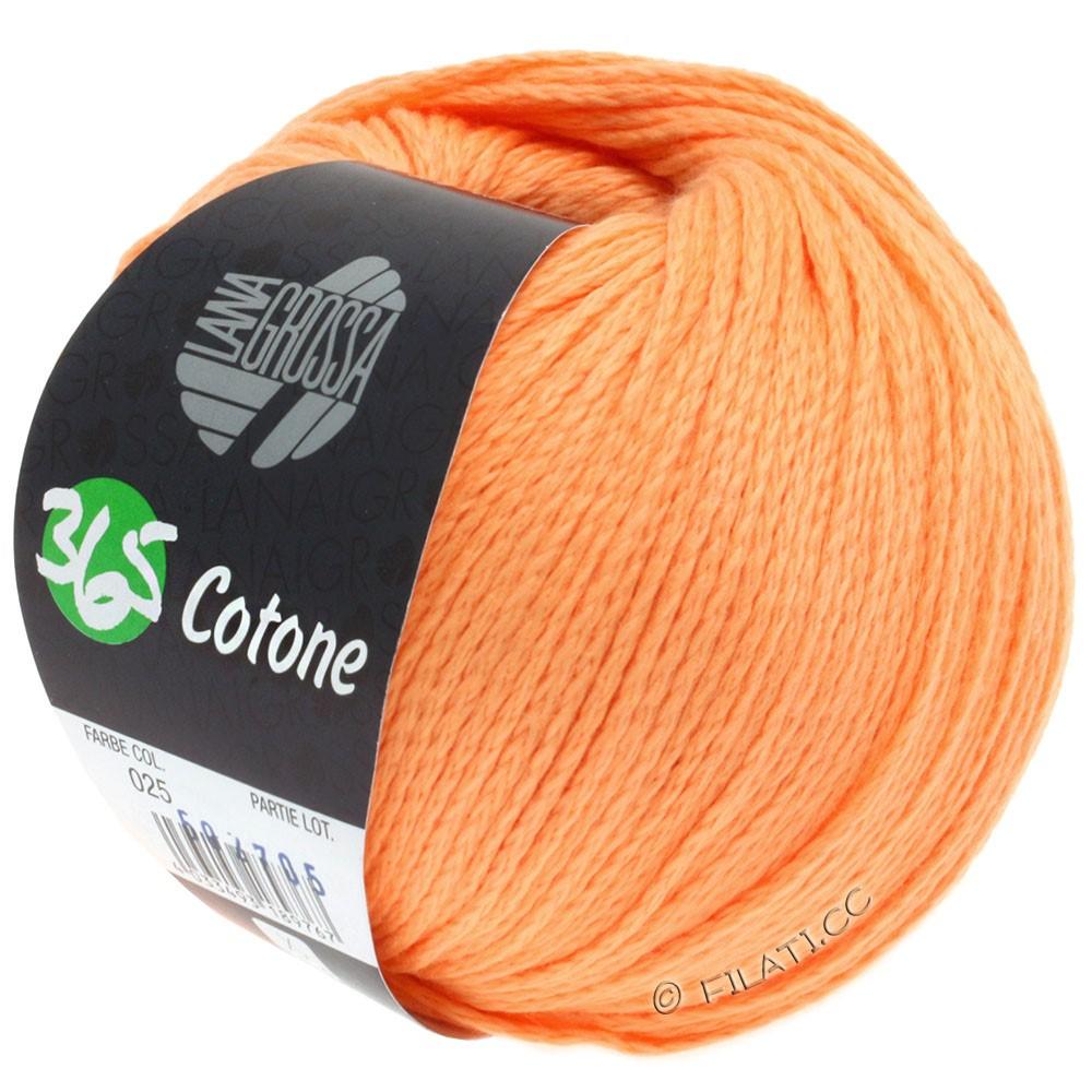 Lana Grossa 365 COTONE   25-orange