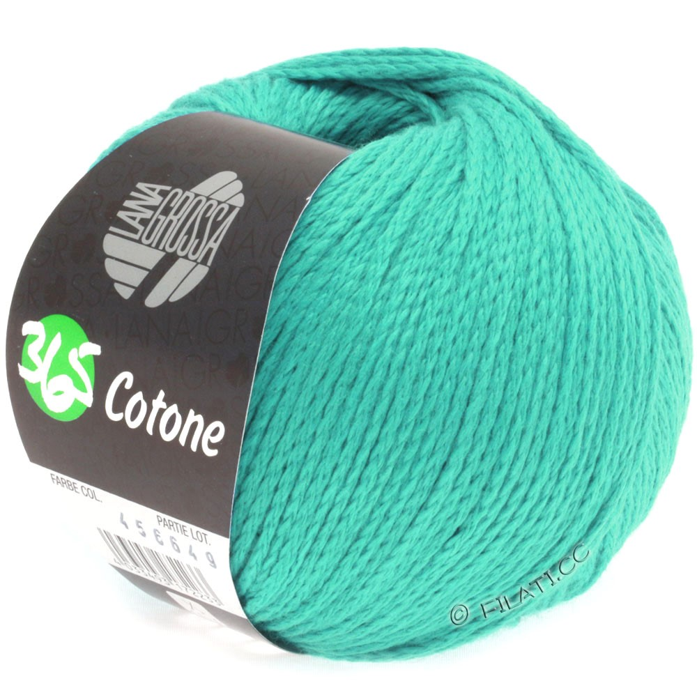 Lana Grossa 365 COTONE   26-turkisgrøn