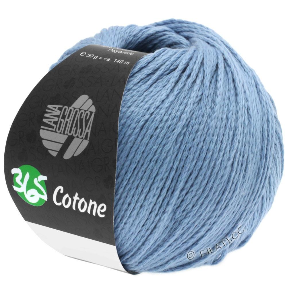 Lana Grossa 365 COTONE | 35-gråblå