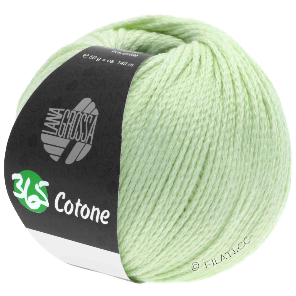 Lana Grossa 365 COTONE   37-sartgrøn