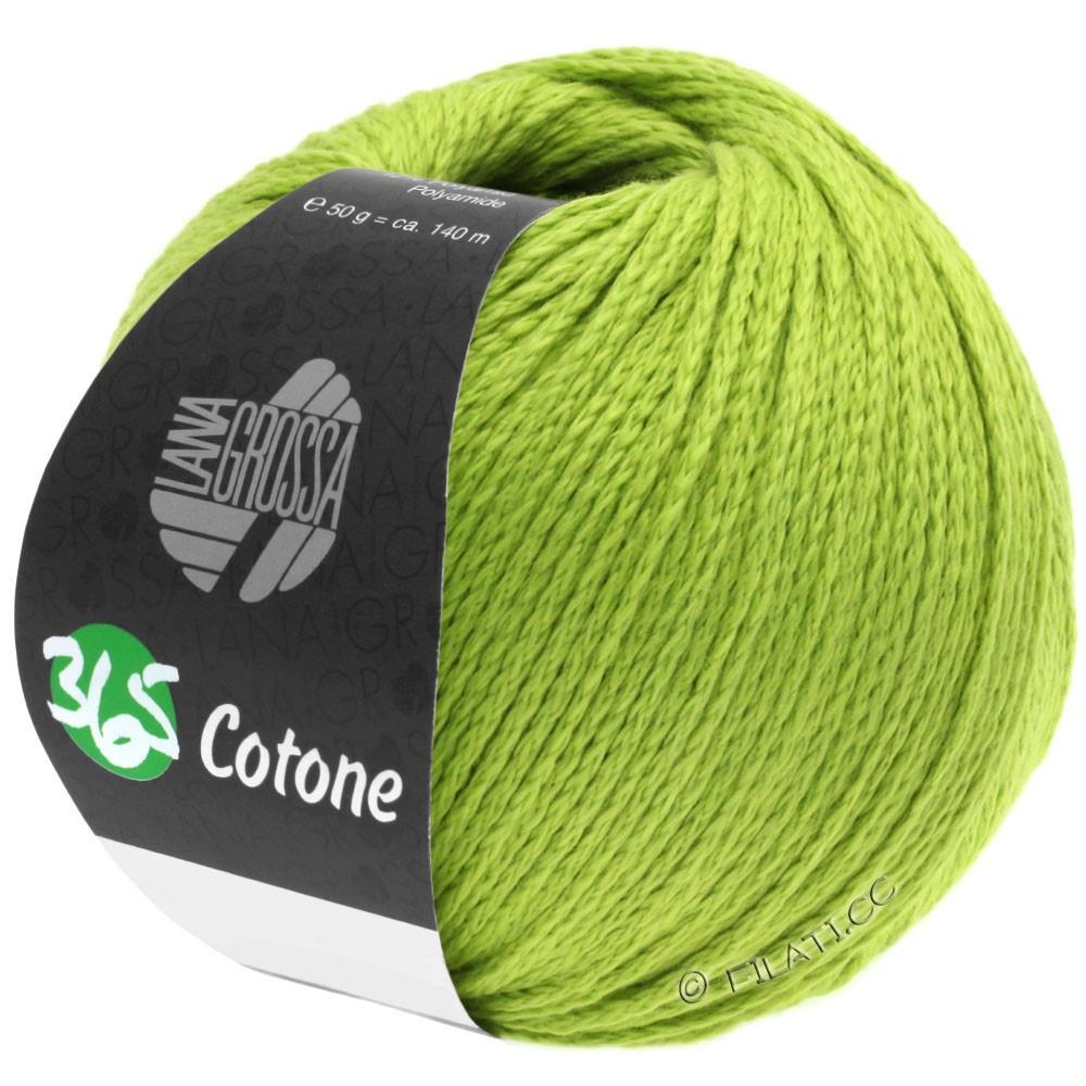 Lana Grossa 365 COTONE | 38-gulgrøn