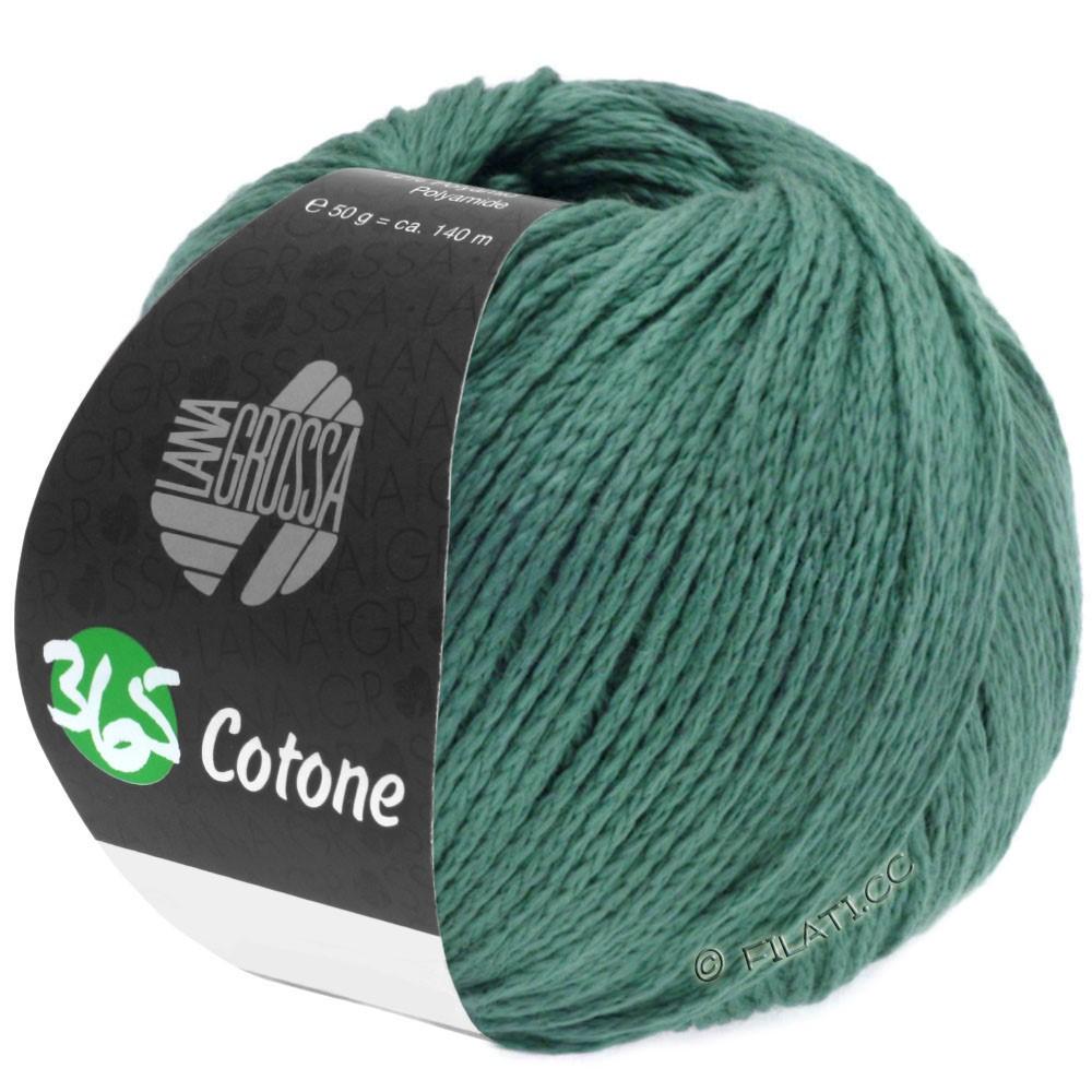 Lana Grossa 365 COTONE   45-mørkegrøn