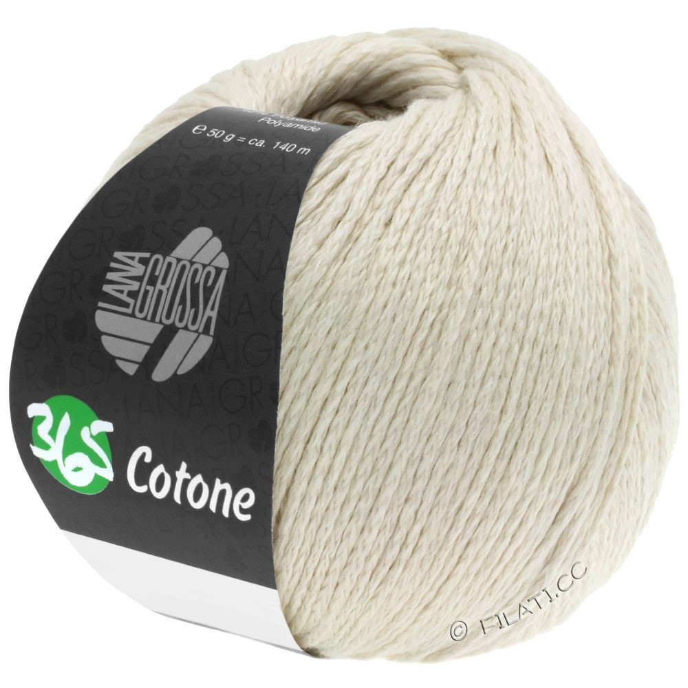 Lana Grossa 365 COTONE | 47-rå hvid