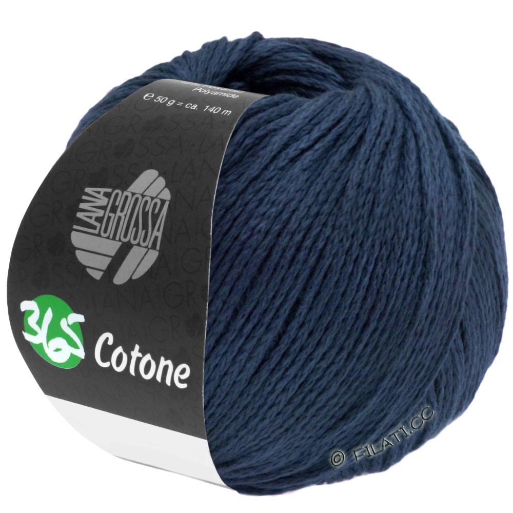 Lana Grossa 365 COTONE | 51-natblå