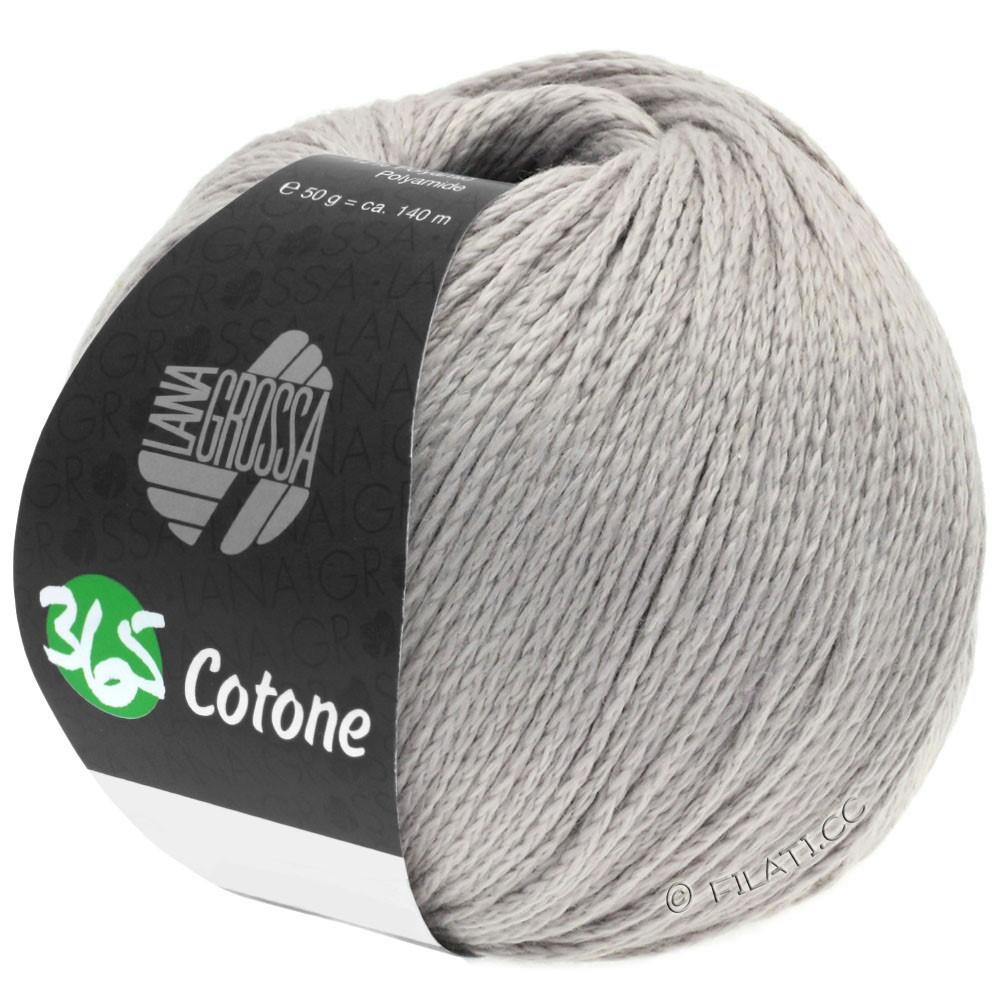 Lana Grossa 365 COTONE | 52-sølvgrå
