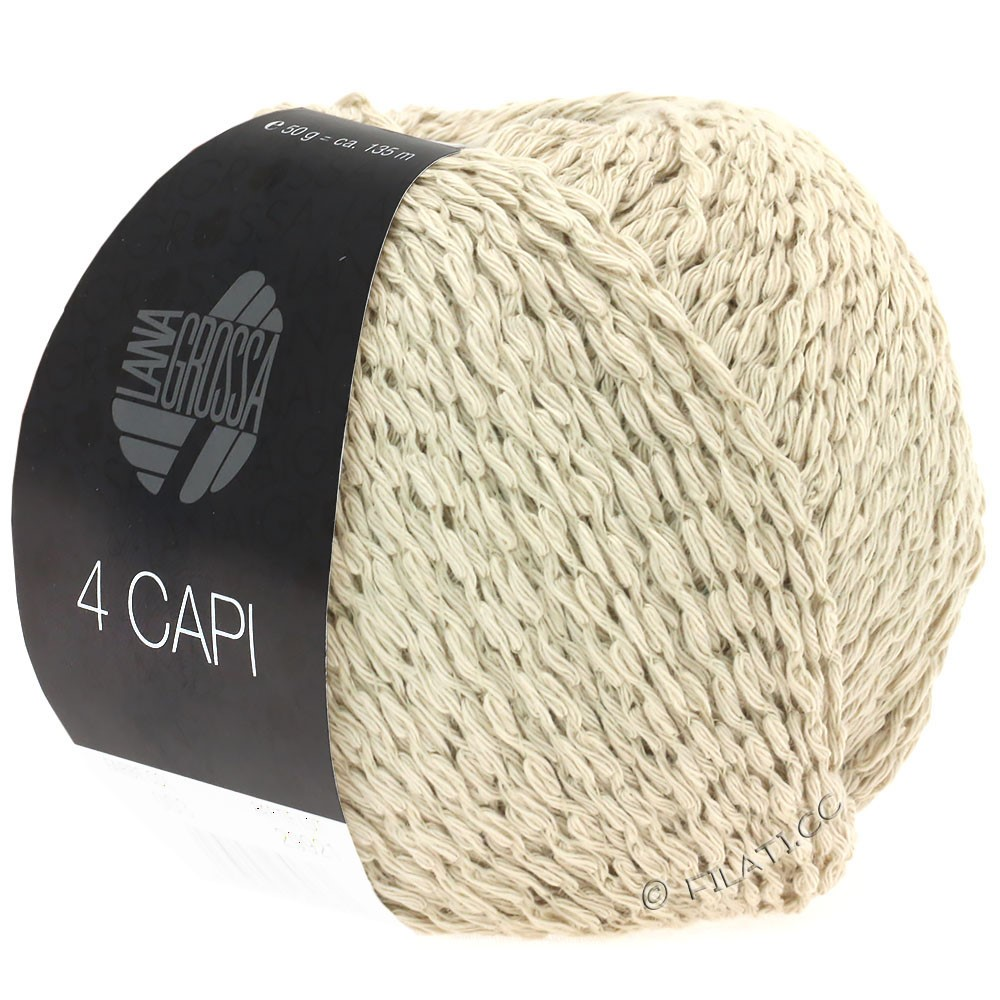 Lana Grossa 4 CAPI | 01-sand