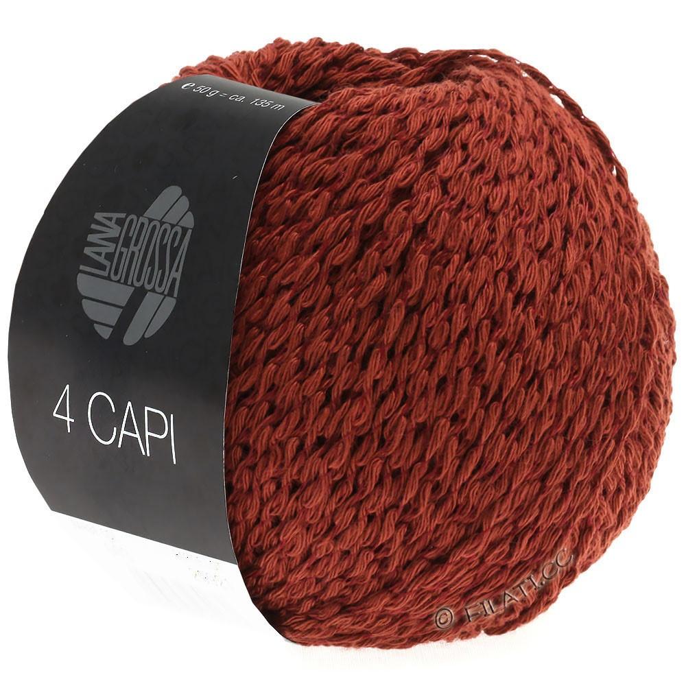 Lana Grossa 4 CAPI | 03-rødbrun