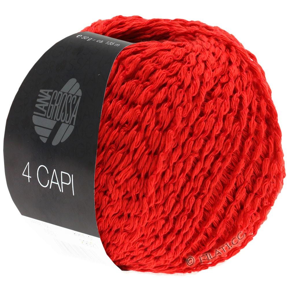 Lana Grossa 4 CAPI | 07-rød