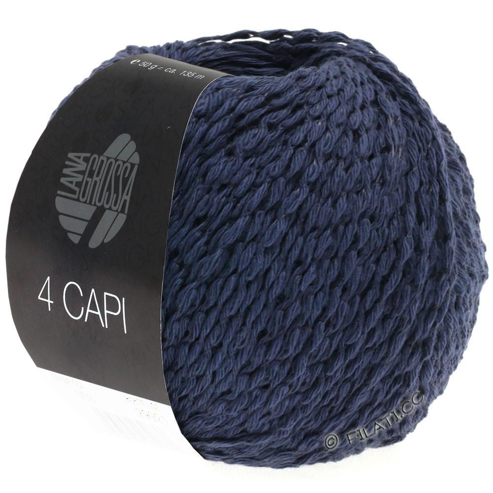 Lana Grossa 4 CAPI | 08-mørkeblå