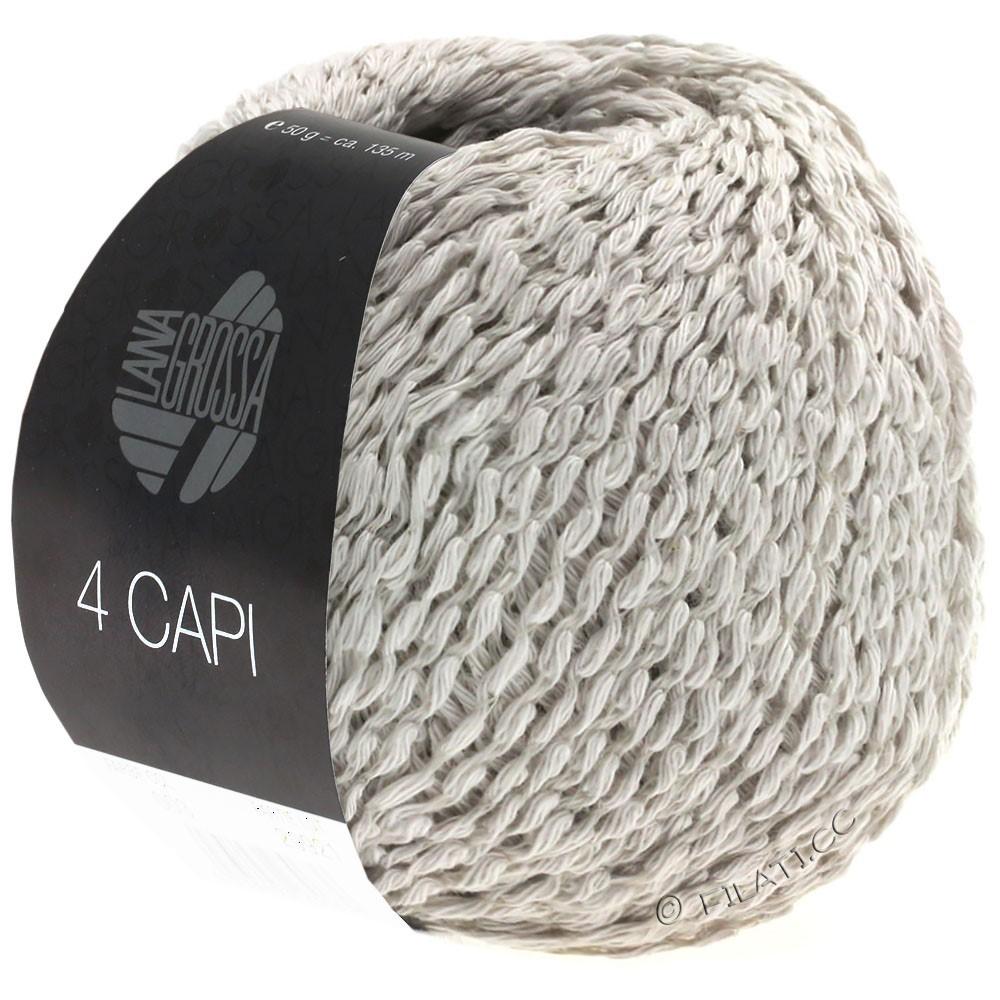Lana Grossa 4 CAPI | 09-sartgrå
