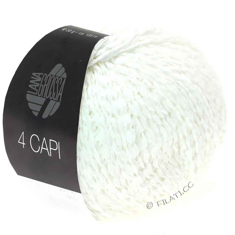 Lana Grossa 4 CAPI | 11-hvid