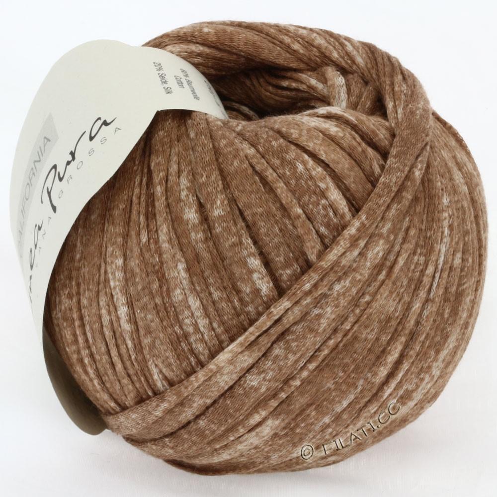Lana Grossa CALIFORNIA Uni/Print (Linea Pura) | 203-brun meleret