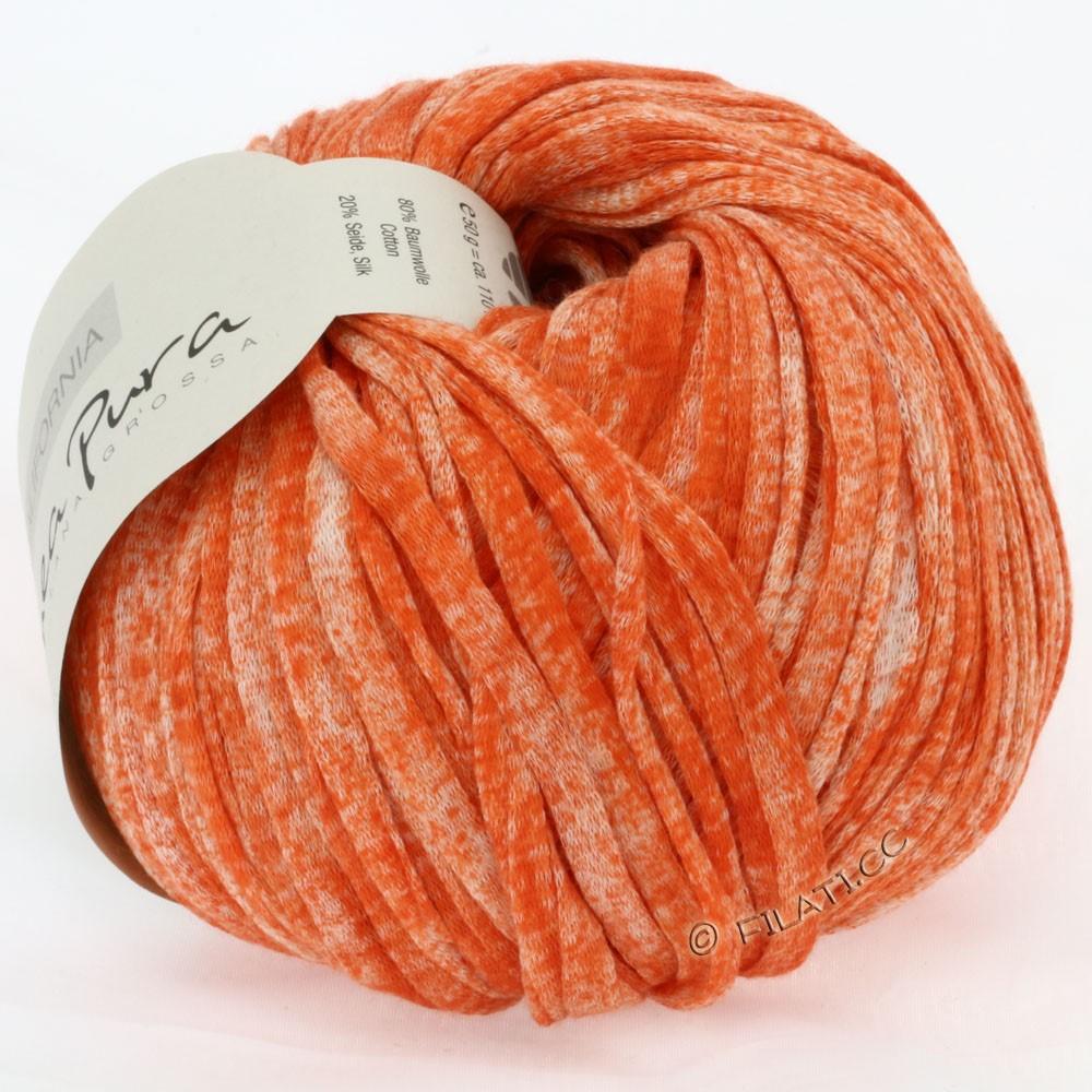 Lana Grossa CALIFORNIA Uni/Print (Linea Pura) | 204-koral meleret