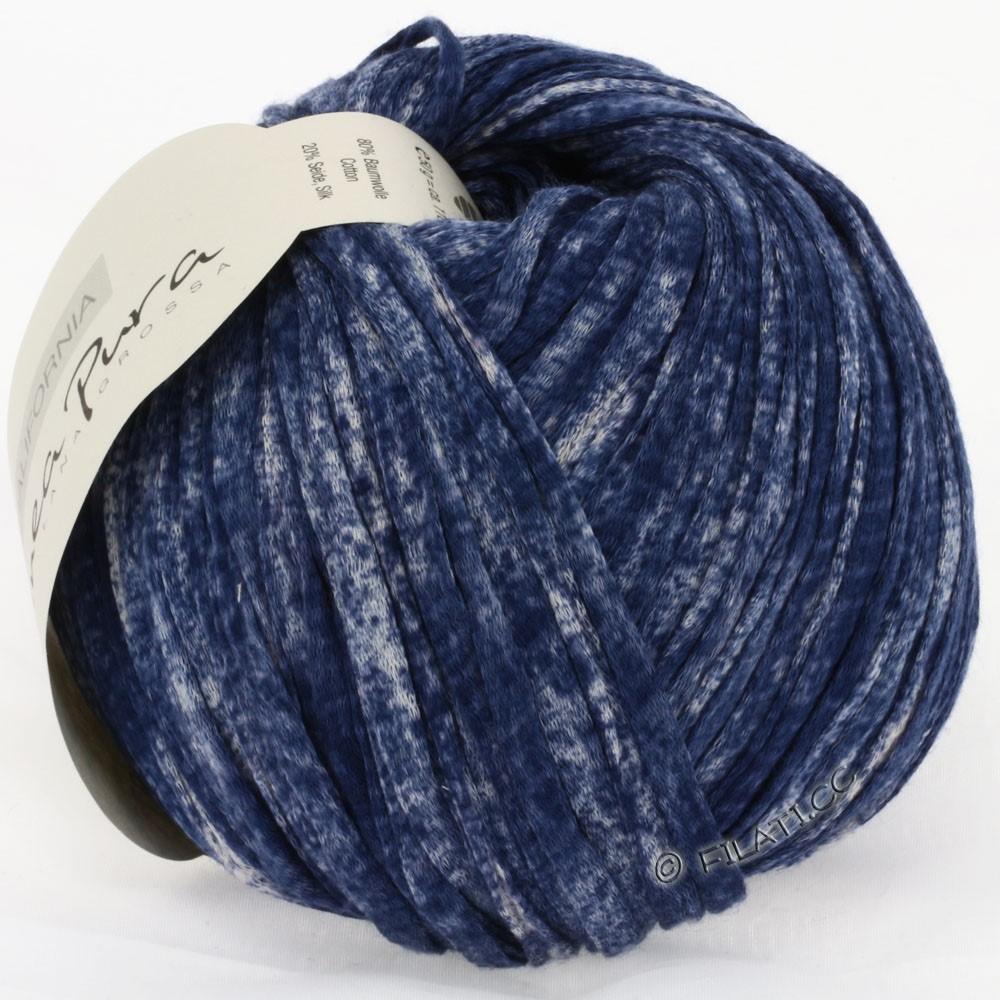 Lana Grossa CALIFORNIA Uni/Print (Linea Pura) | 208-jeans meleret