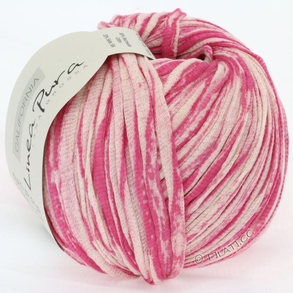 Lana Grossa CALIFORNIA Uni/Print (Linea Pura) | 402-pink/natur
