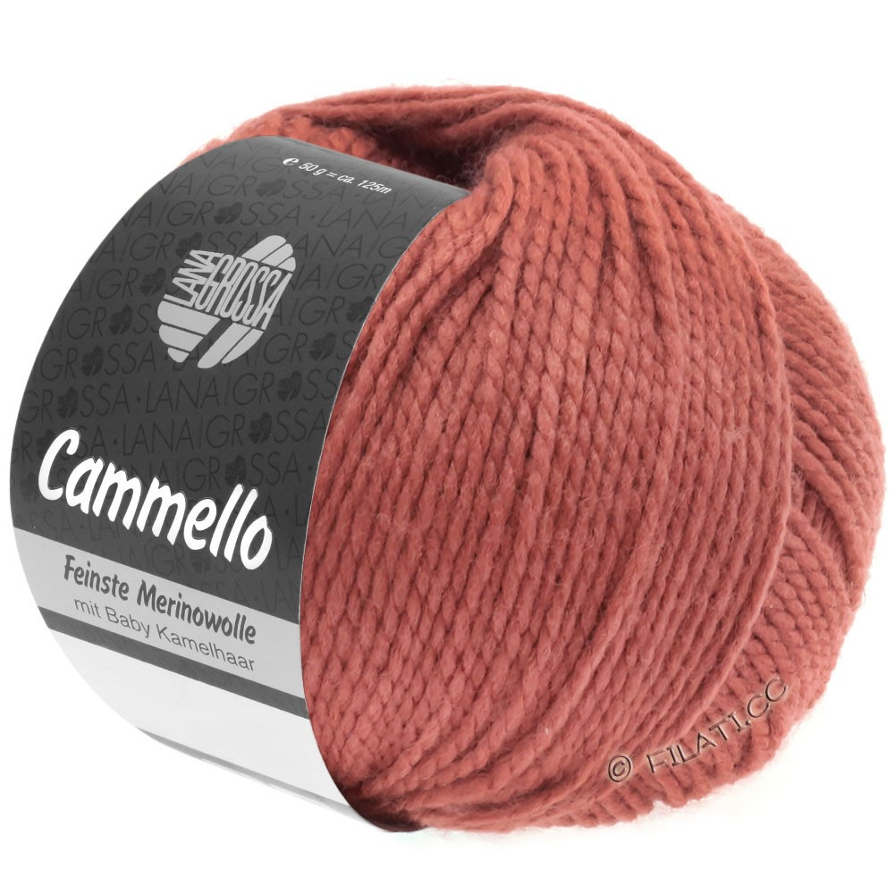Lana Grossa CAMMELLO | 17-fictile rød