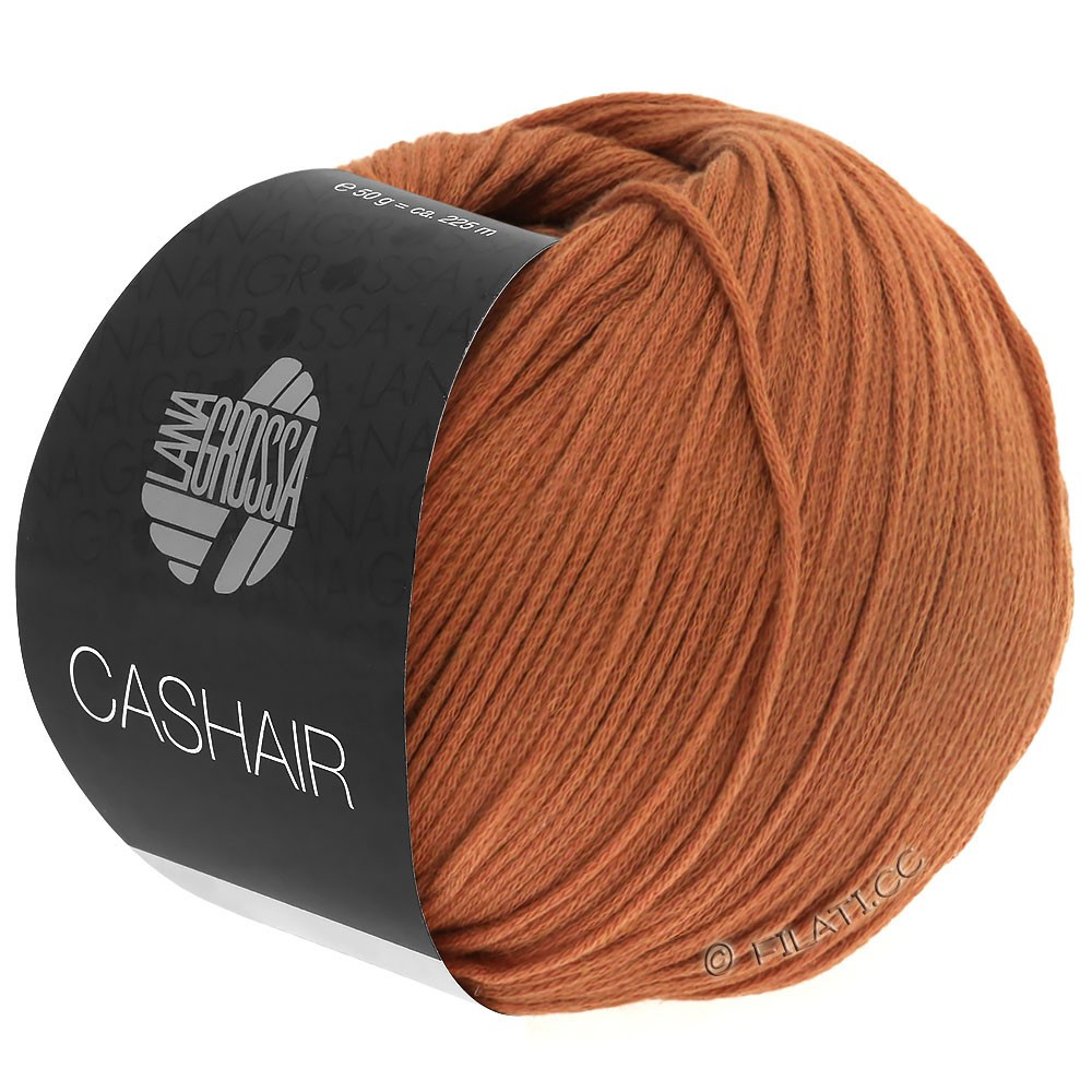 Lana Grossa CASHAIR | 05-kanelbrun