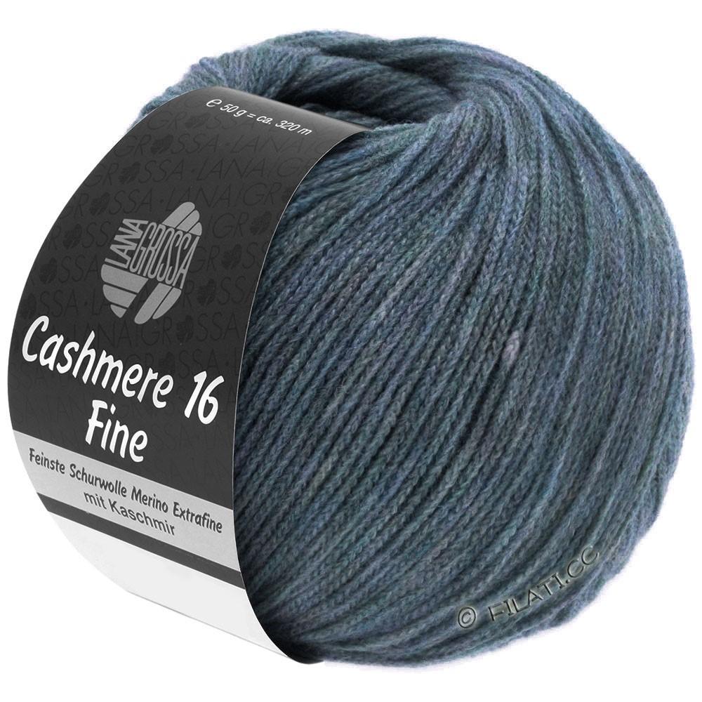 Lana Grossa CASHMERE 16 FINE Uni/Degradé | 005-gråblå